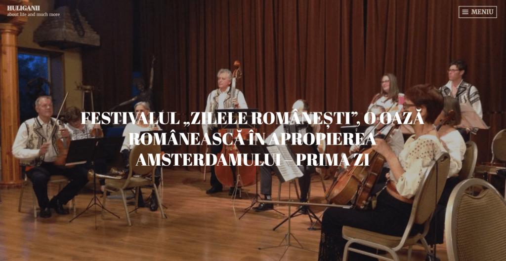 Huliganii, Zilele Românești, prima zi