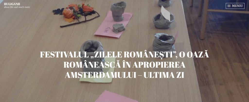 Huliganii, Zilele Românești, a treia zi