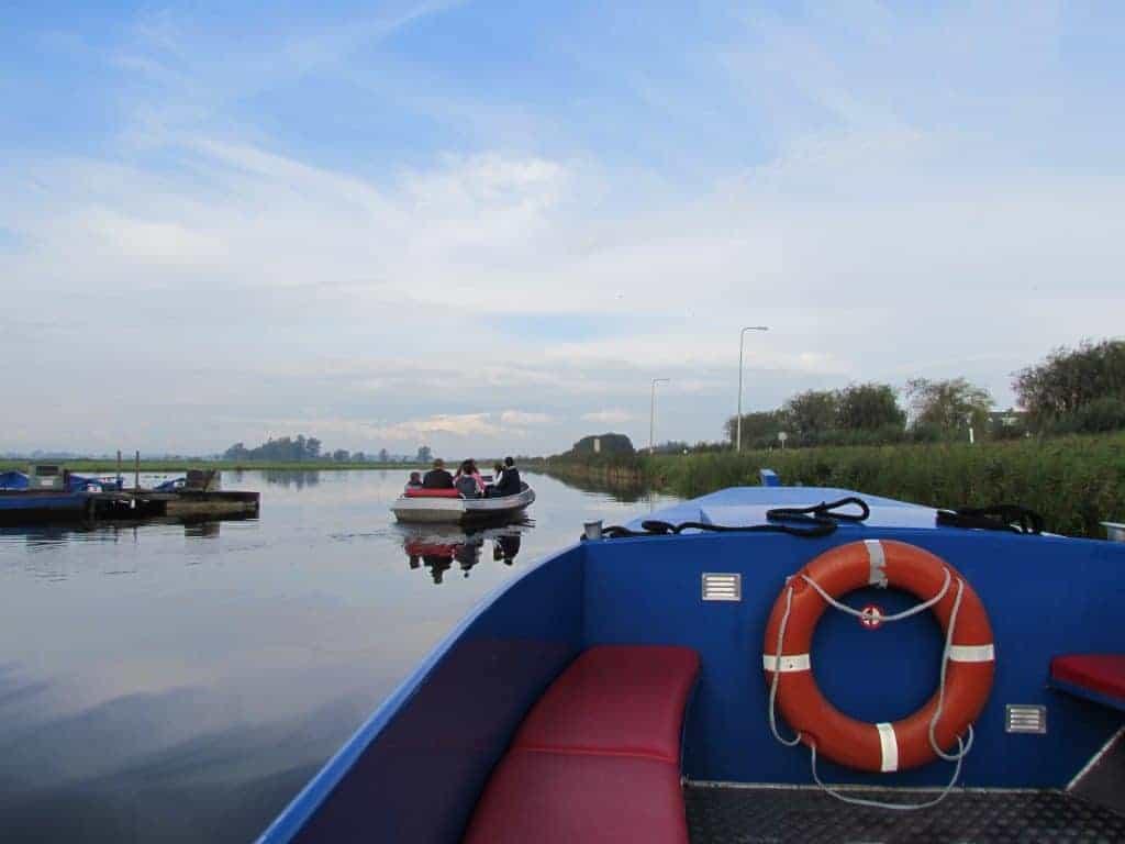 Plimbare cu barca
