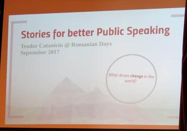 Antreprenoriat și dezvoltare profesională la Zilele Românești