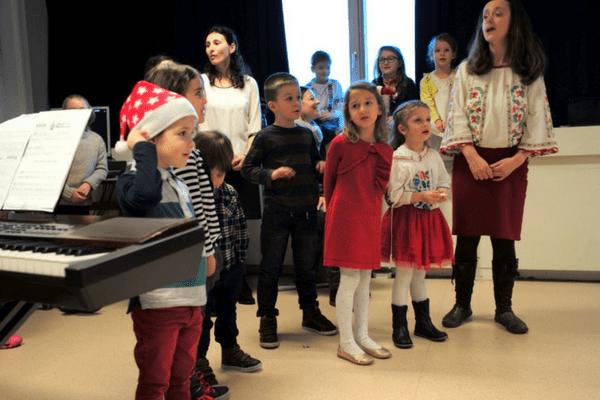 Jurnal de școală: serbare de Crăciun