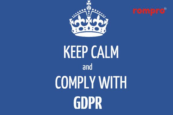 """Despre noul Regulament general privind protecția datelor (""""GDPR"""")"""