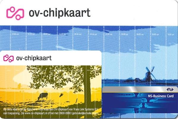 OvChipKaart sau cardul de transport
