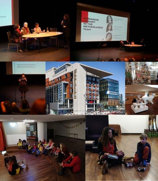 Inaugurarea bibliotecii românești din Amsterdam