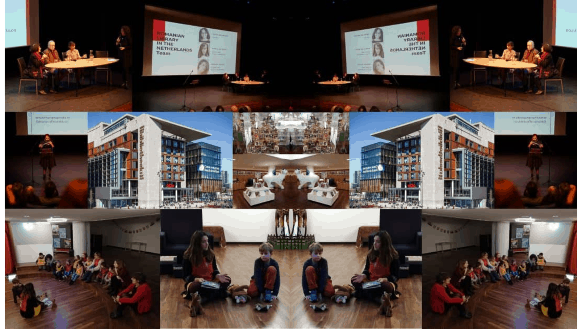 Inaugurarea bibliotecii românești din Amsterdam [impresii]
