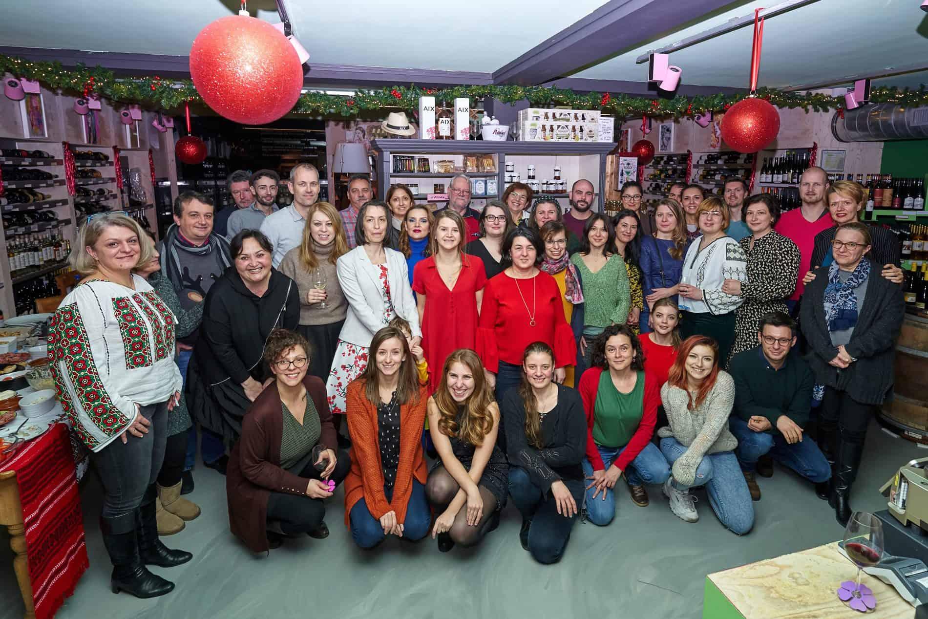 Petrecea de Crăciun a voluntarilor
